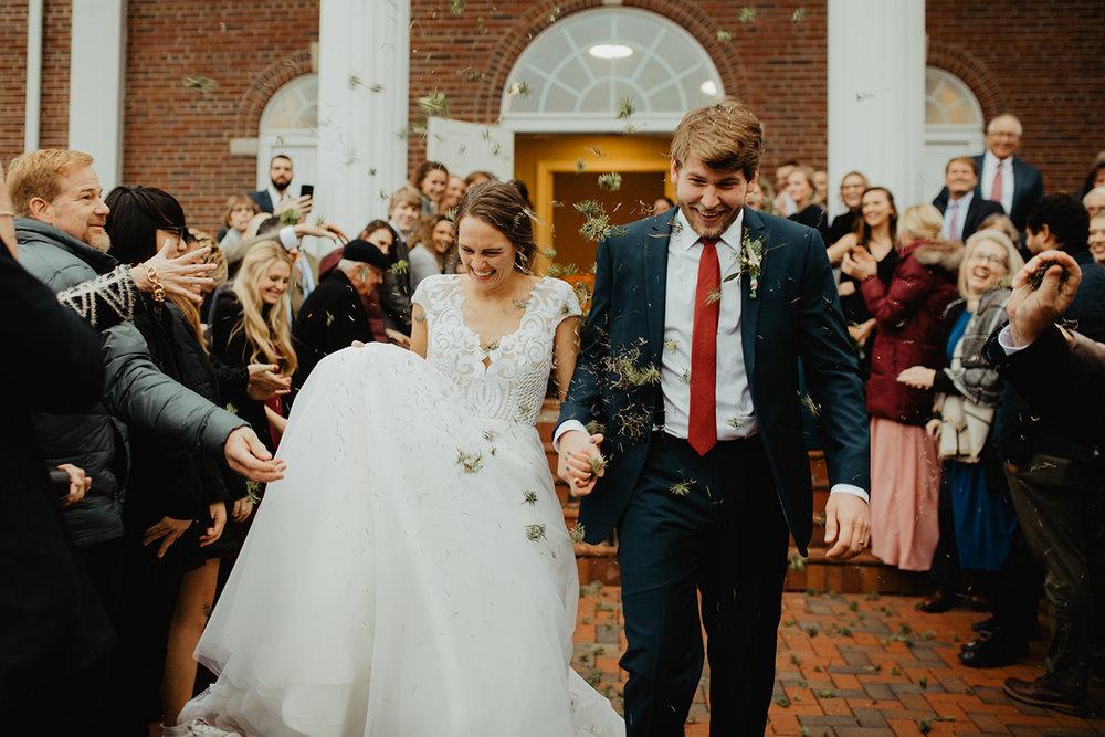 bride-and-groom-exit