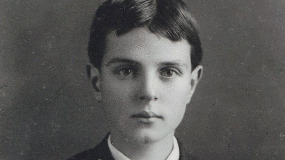 THORNTON WILDER, AGE 13