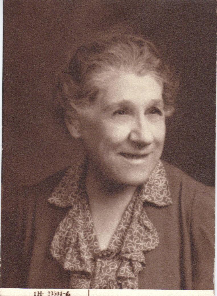 Thornton Wilder's mother, Isabella Thornton Niven Wilder, 1944, age seventy-one