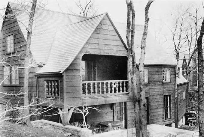 """The House That Bridge Built"" Deepwood Drive, Hamden Connecticut"