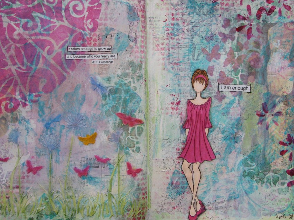 Create Vitality - 4 Art Journaling sessionsPackage price: $90(you save $30)To be used within a year of purchase.