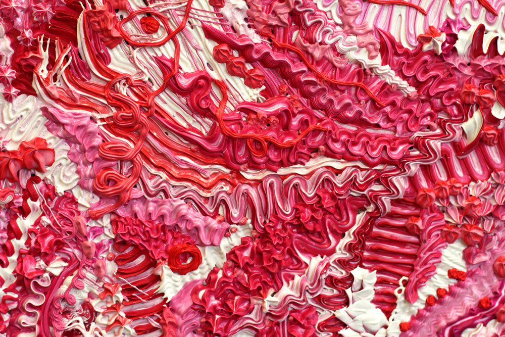 DETAIL of CORAL COLLAPSE