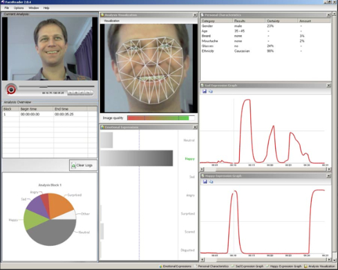 Expert heuristic analysis and facial scanning can detect even low intensity emotions by movements in the user's face and posture. Though expensive and time consuming to use, these methods are the gold standard in emotion measurement.