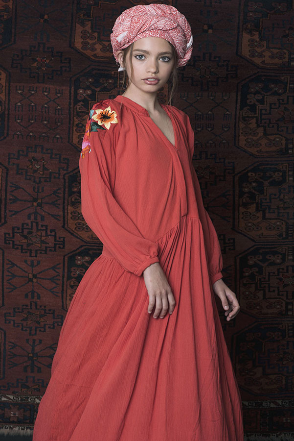 Dress Anis Long Embroidered Raspberry (1).jpg