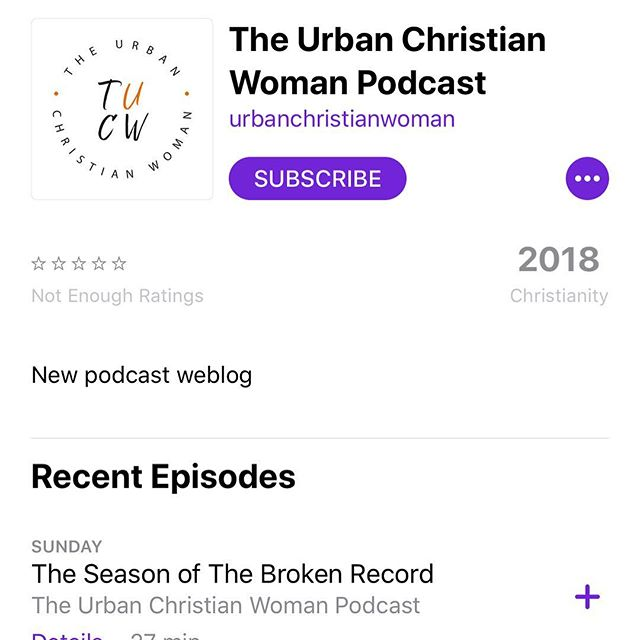 BREAKING NEWS.... @theurbanchristianwoman podcast is now available on iTunes!!!!!! Listen, subscribe, and tag a friend! Truth for everyday life is heading to phone every Monday! #theurbanchristianwoman #urbanchristian #urbanchristianwomen #christian #christianity #shereadstruth #womenintheword #cleveland #womenofcolor #blackwomen #asianwomen #hispanicwomen #latinawomen #caucasianwomen #womenofthecity #citywomen
