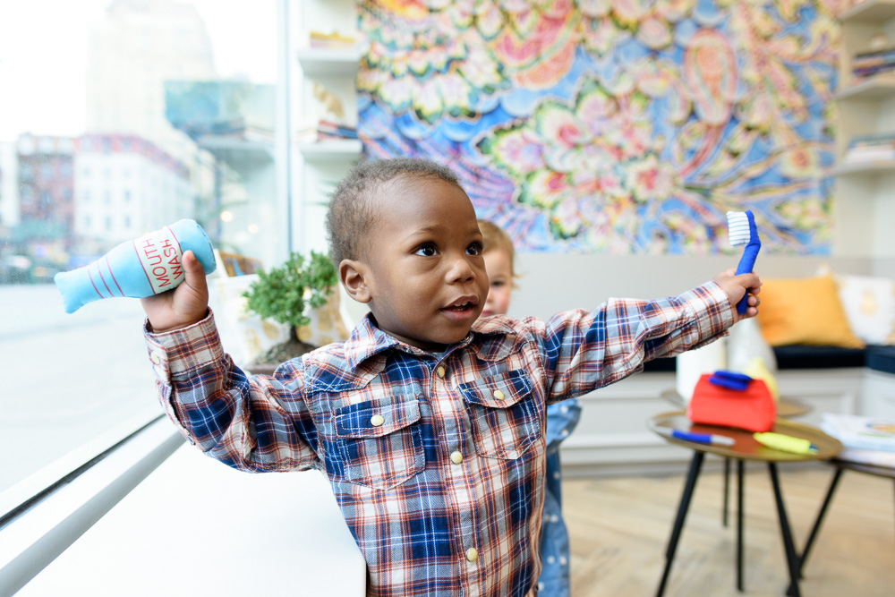 Choose a board-certified pediatric specialist.
