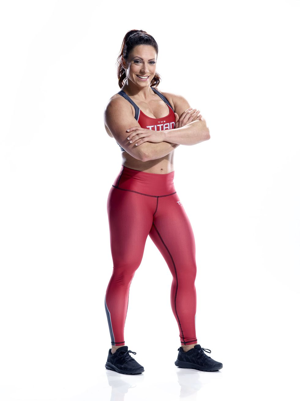 Jenessa Goeman - Instagram: @gym_nessaTwitter: @gym_nessaA former top gymnast on a national championship team, Jenessa has a love for fitness. At 28, a ligament tear forced her to find an alternate mode of exercise and, at the suggestion of her then boyfriend, took up weight-lifting. Jenessa wants to prove both to herself and the world she is a strong, independent woman.