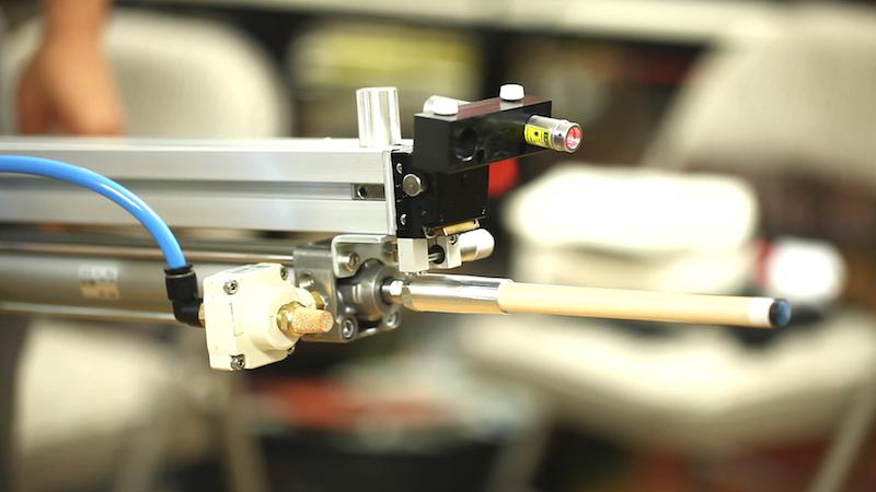 pneumatic billard machine