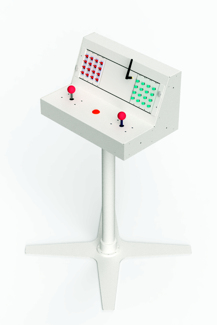 game controller CAD model