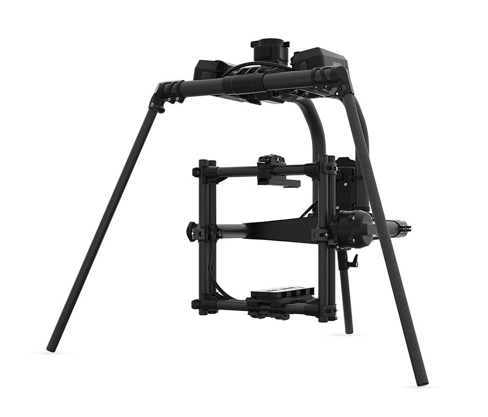 MOVI Pro - Gimbal for ARRI MINI or RED cameras, paired with the ALTA 8