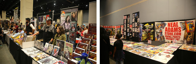 NC Comicon in Raleigh with artist Neal Adams