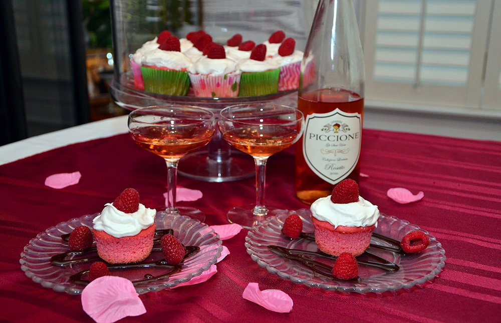 Cupcakes and Rose Wine.jpg