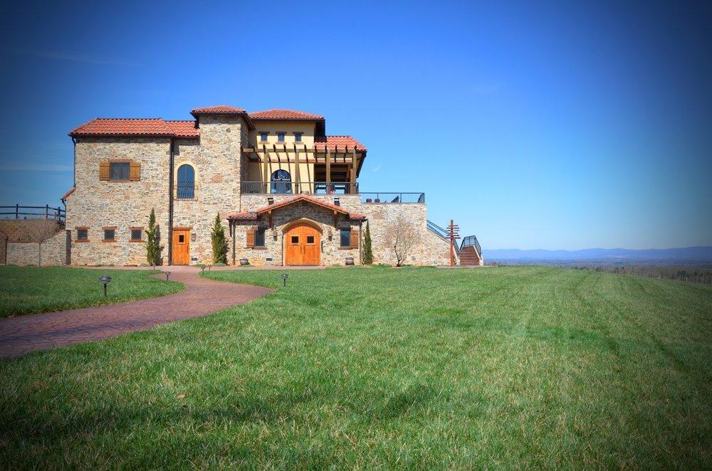 Raffaldini Vineyards & Winery located in Ronda, North Carolina.