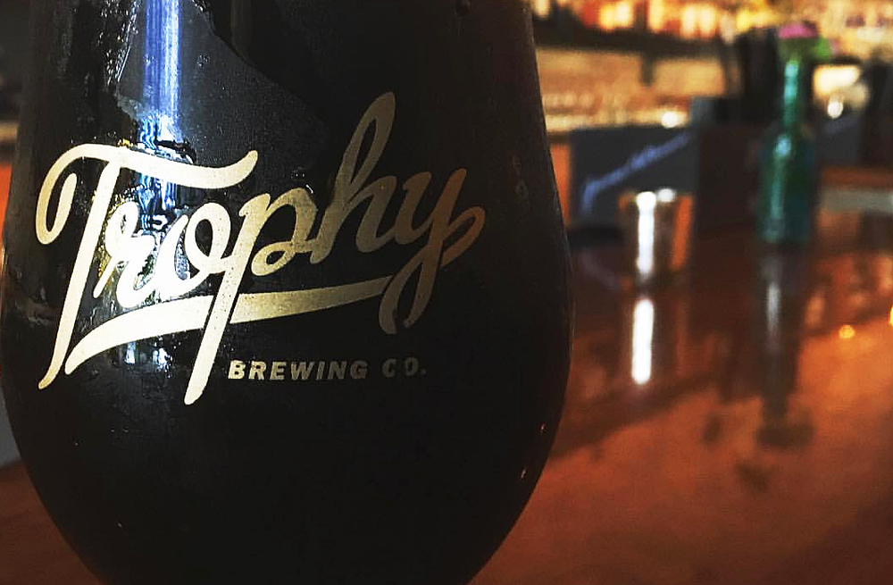 Raleigh's Trophy Brewing Co. has seen a steady incline in production since 2016. -