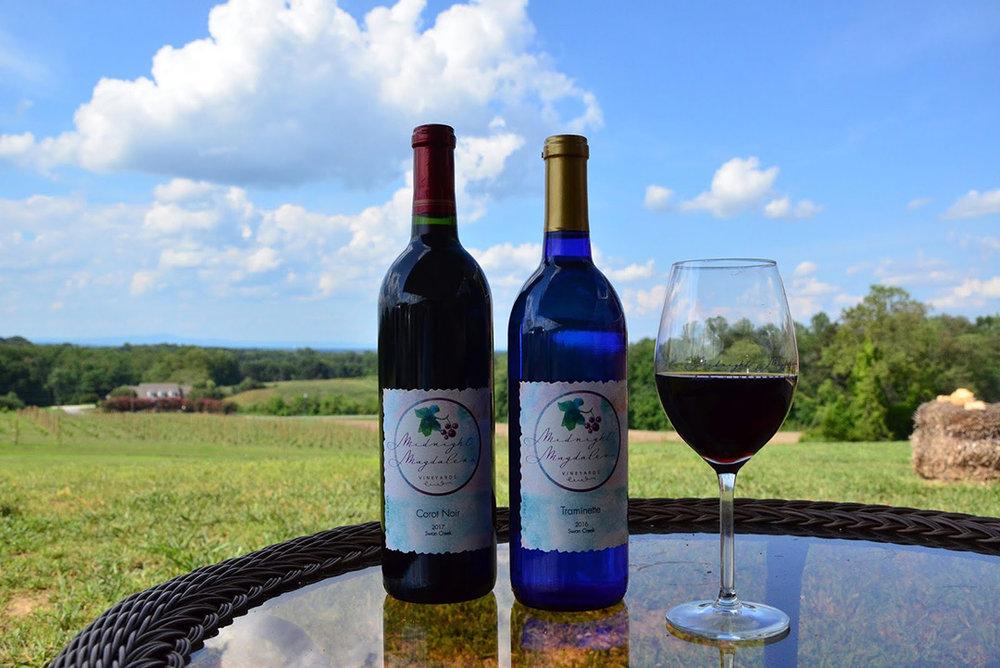 Midnight Magdalena Vineyards Top Selling Wines.JPG