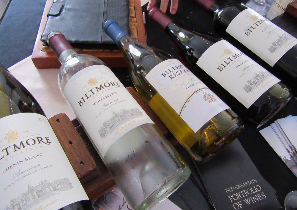 Biltmore Estate was pouring its wines at the SAVOR Grand Tasting on Saturday, April 22.