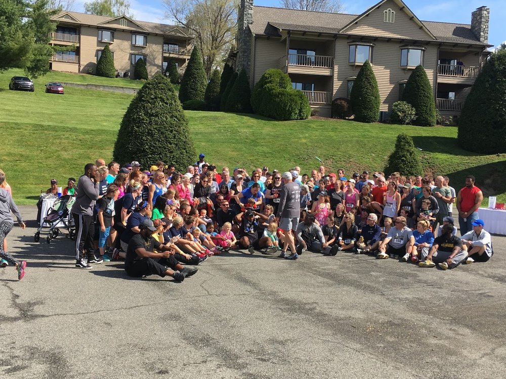 Over 240 runners and walkers participated in the Corkscrew and Brew 5K at Chetola Resort in Blowing Rock.
