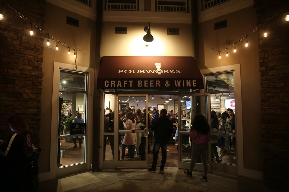 PourWorks had its grand opening at 900 E. Six Forks in Raleigh on Saturday, March 11.
