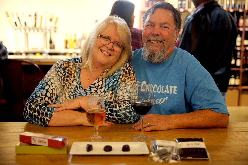 Geraldine and Dan of GerDan Chocolates started crafting candies back in 2011