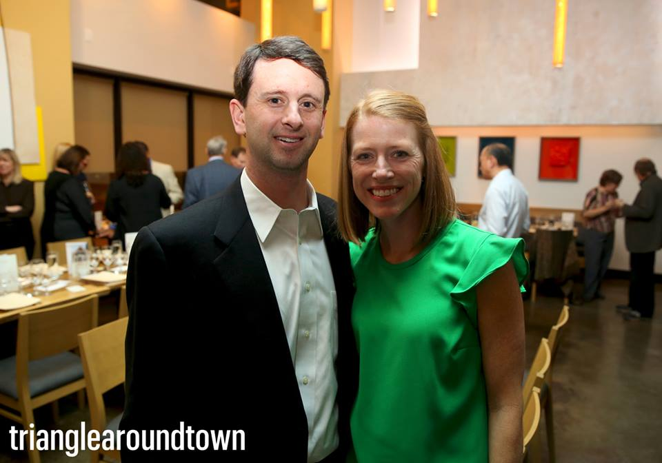 David McGowen and his wife pose for a photograph.