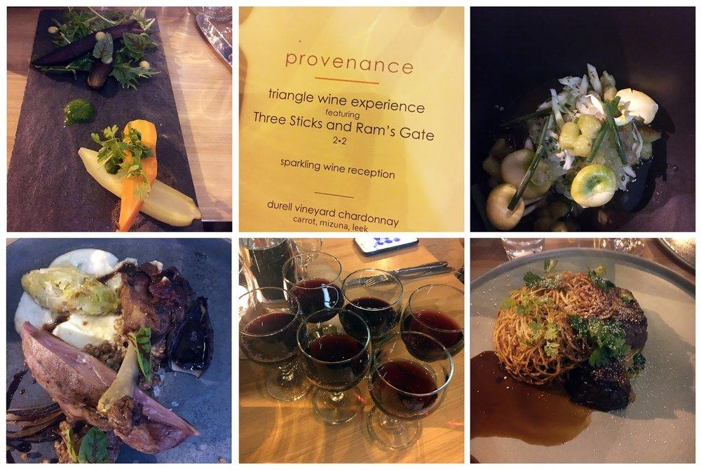 Provence Wine Dinner Triangle Wine Experience.jpg