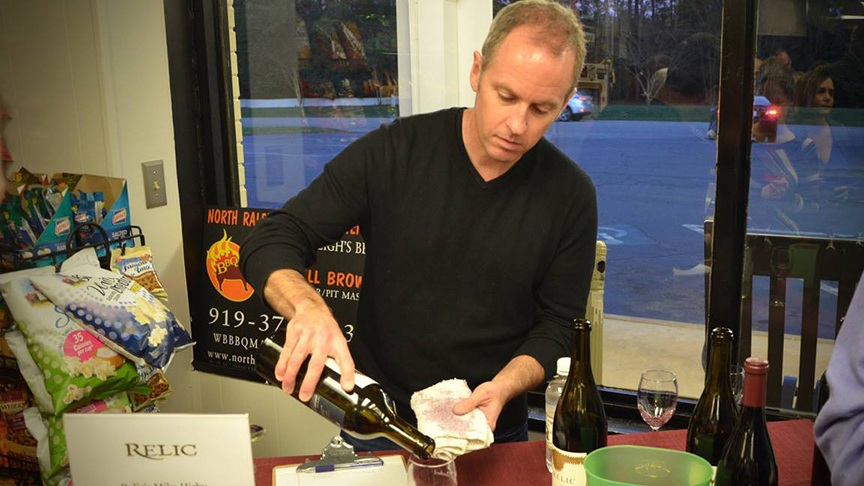 Mike Hirby of Relic Wines