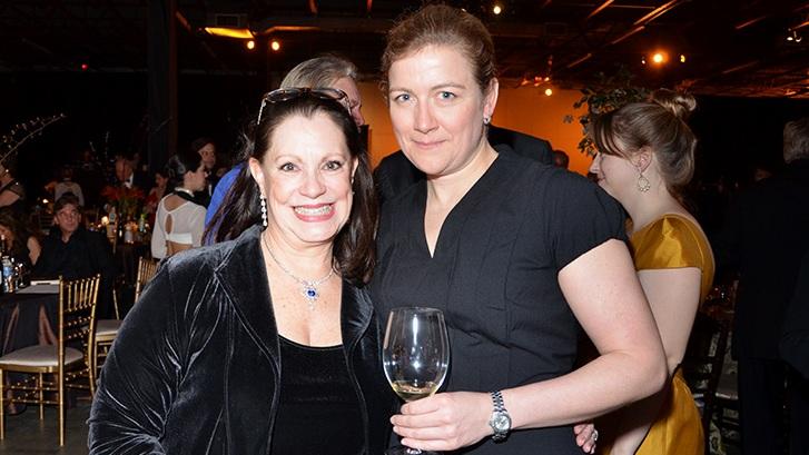 Eliza Kraft Olander and Ashley Christensen