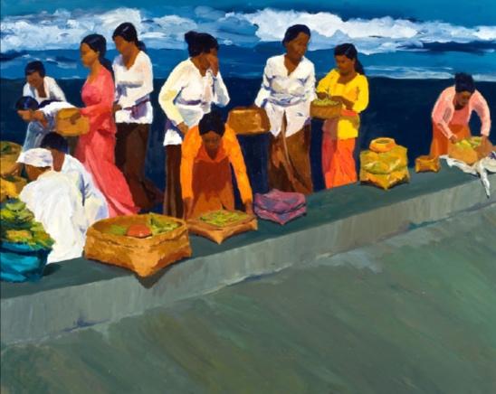 Offerings, Klungkung II, 48x60, 2010