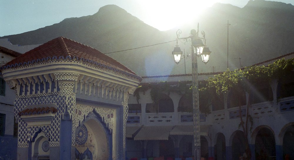 Still from  The Mecca  (2017). Chefchaouen, Morocco. Photo courtesy of Olga S. Nazarenko.