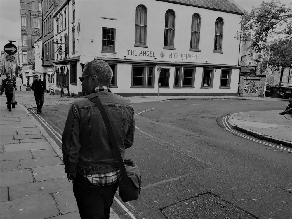 Wandering the streets of Nottingham, UK, 2018