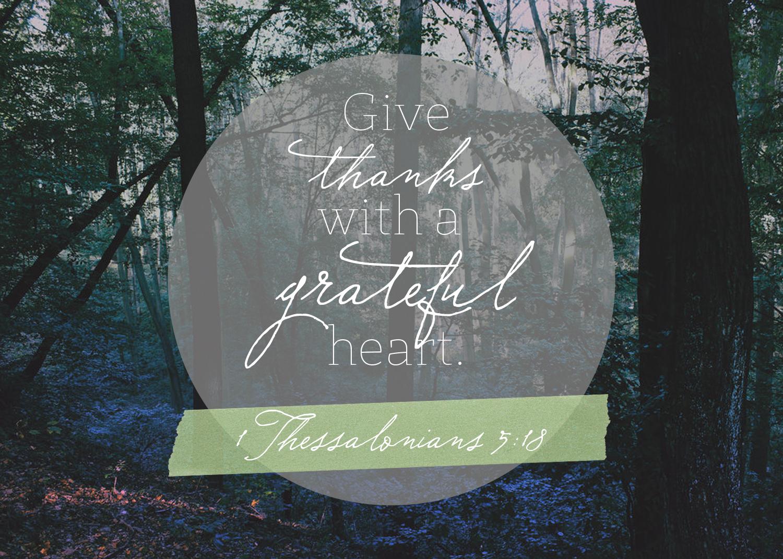 31 Days to a Contented Heart || Give Thanks || sarah writes || sarahsandel.com