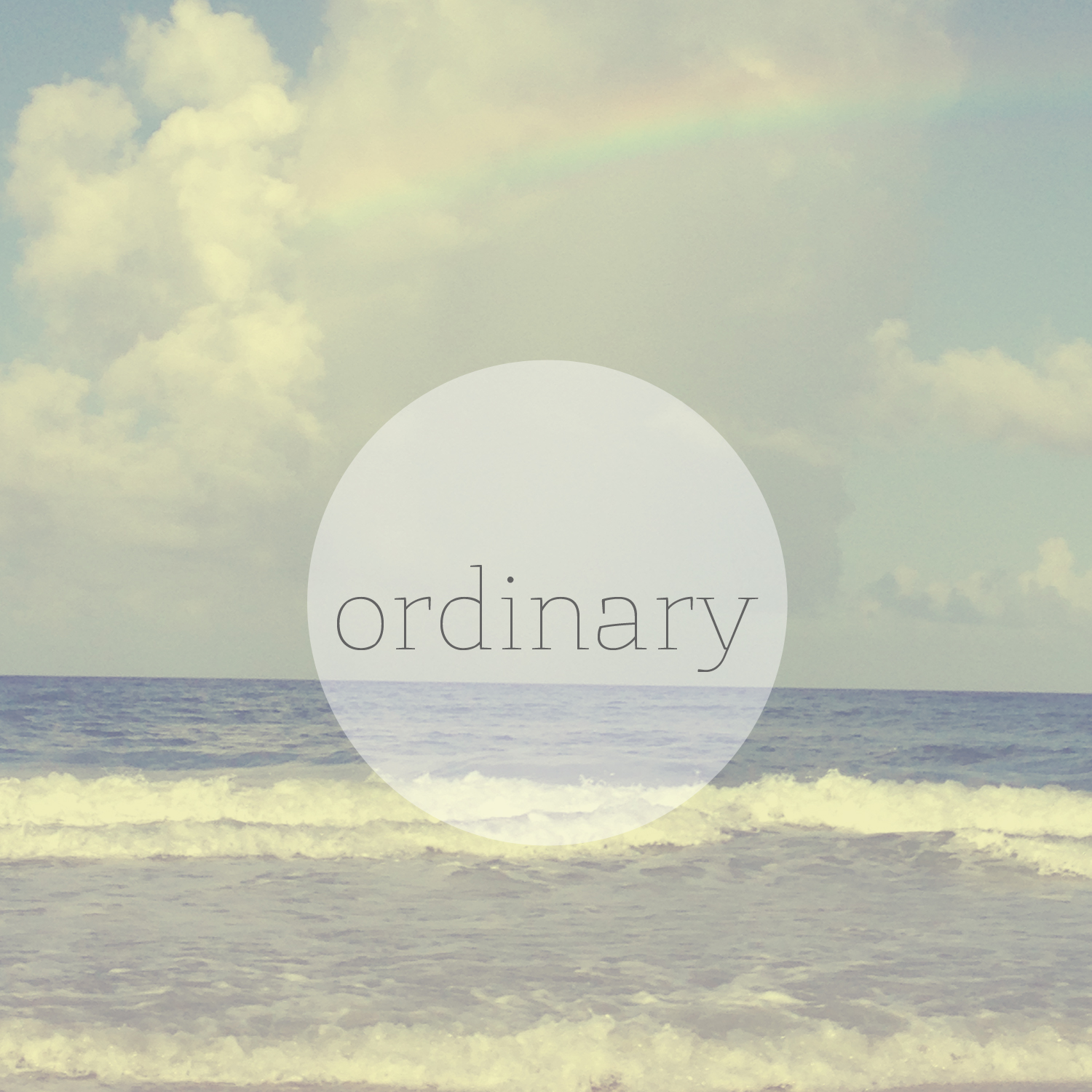 five-minute friday: ordinary || sarahsandel.com