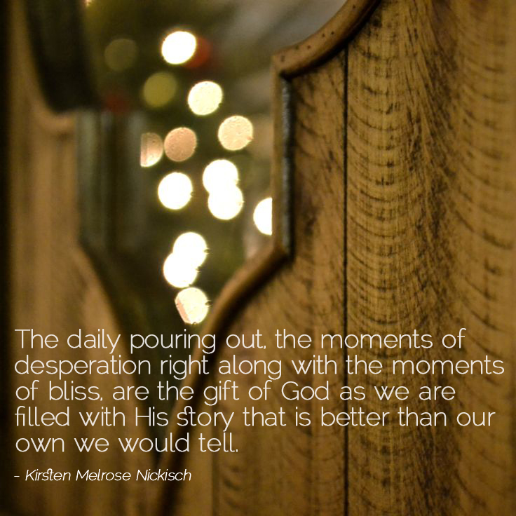 advent day 20: god, the good giver, guest post by kirsten melrose nickisch || sarahsandel.com