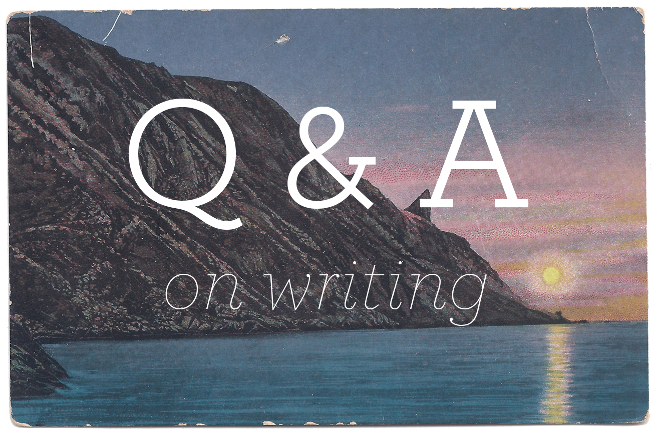 On Writing: Q & A with Sarah Sandel || sarahsandel.com