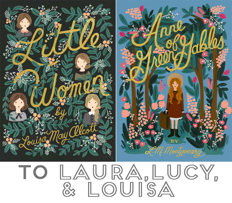 31 Days of Open Letters: A Blog Series at SarahSandel.com // An Open Letter to Laura, Lucy, & Louisa \\ On Reading Good Books