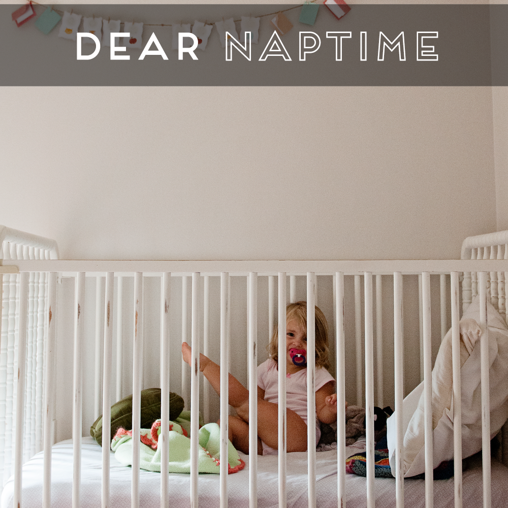 31 Days of Open Letters: A Blog Series at SarahSandel.com // An Open Letter to Naptime