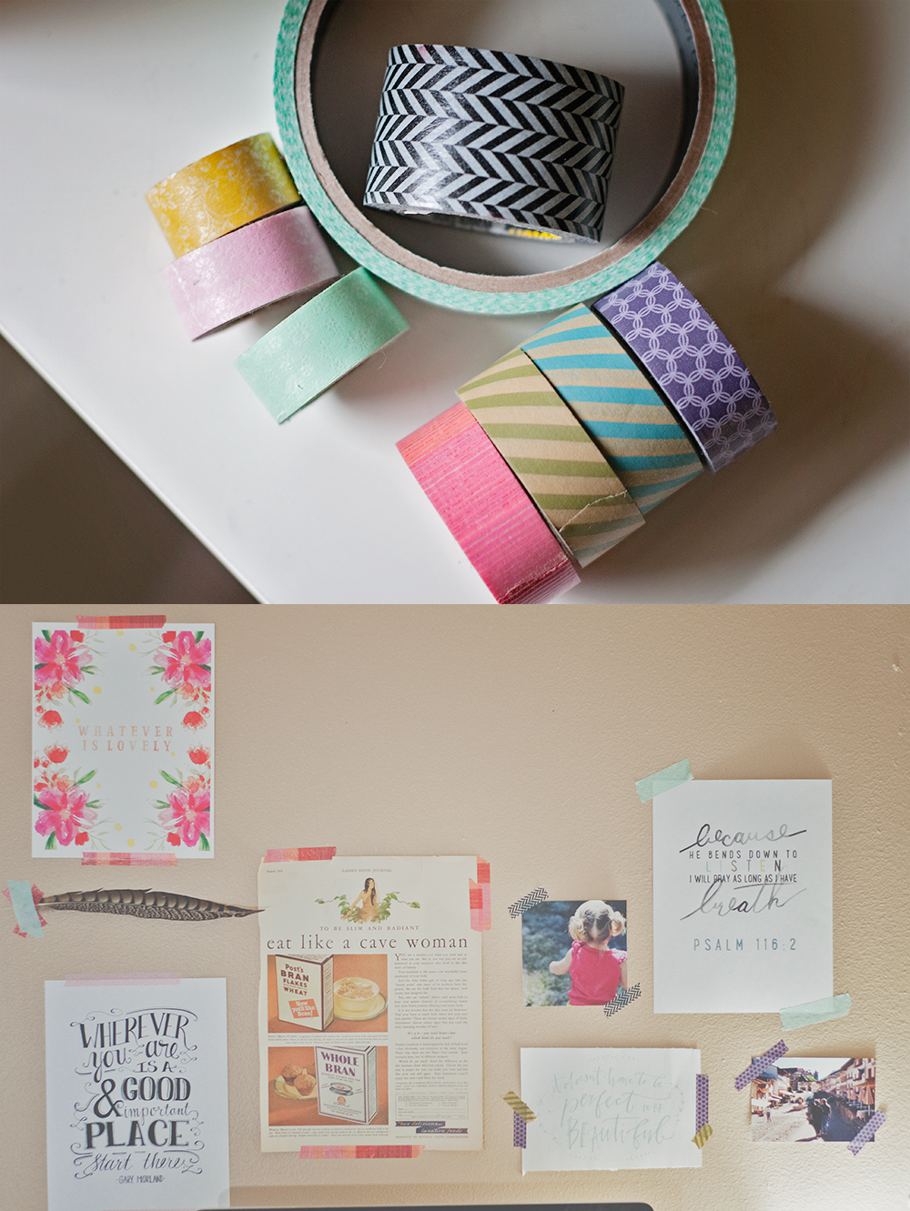 31 Days of Open Letters: A Blog Series at SarahSandel.com // An Open Letter to Washi Tape