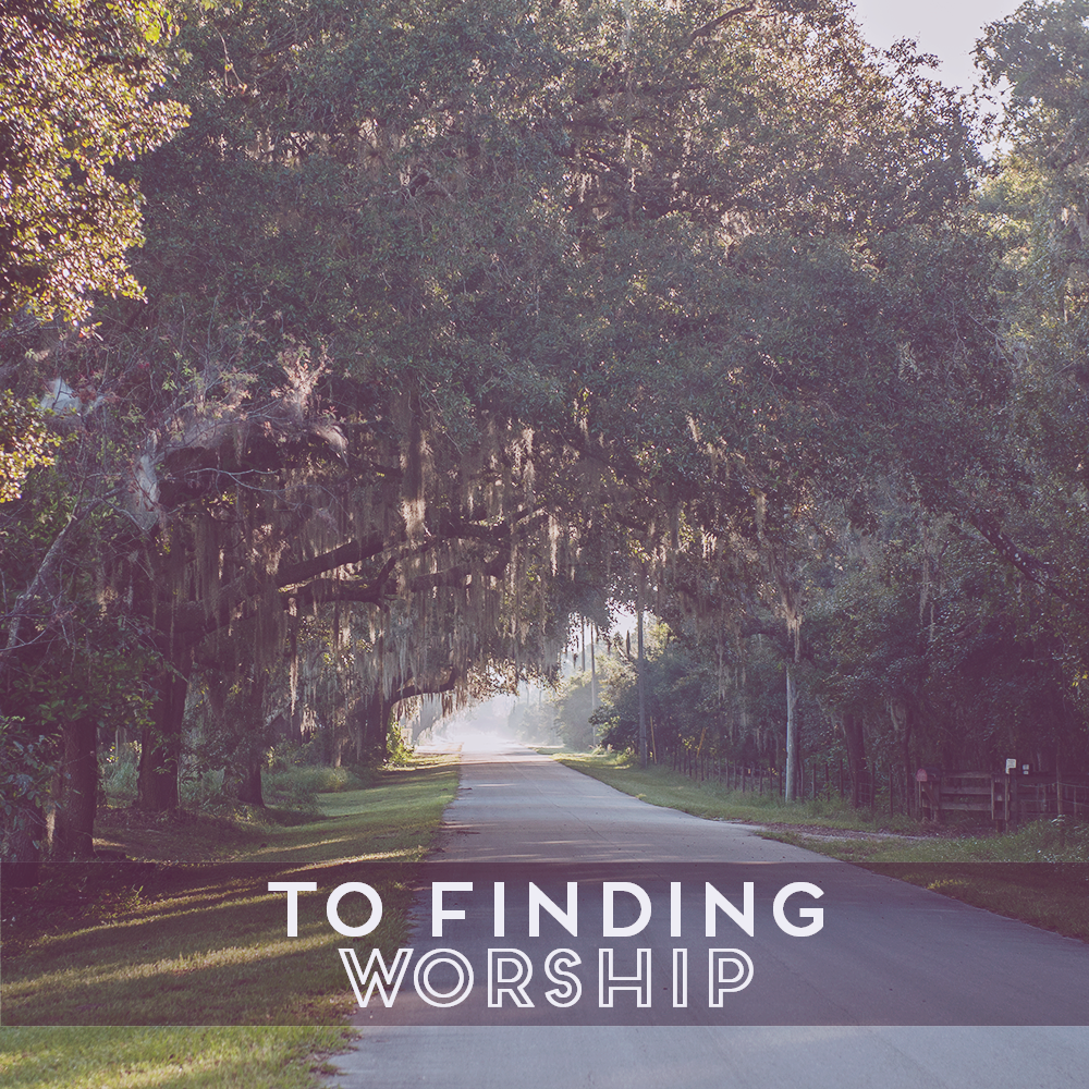 31 Days of Open Letters: A Blog Series at SarahSandel.com // An Open Letter to Finding Worship