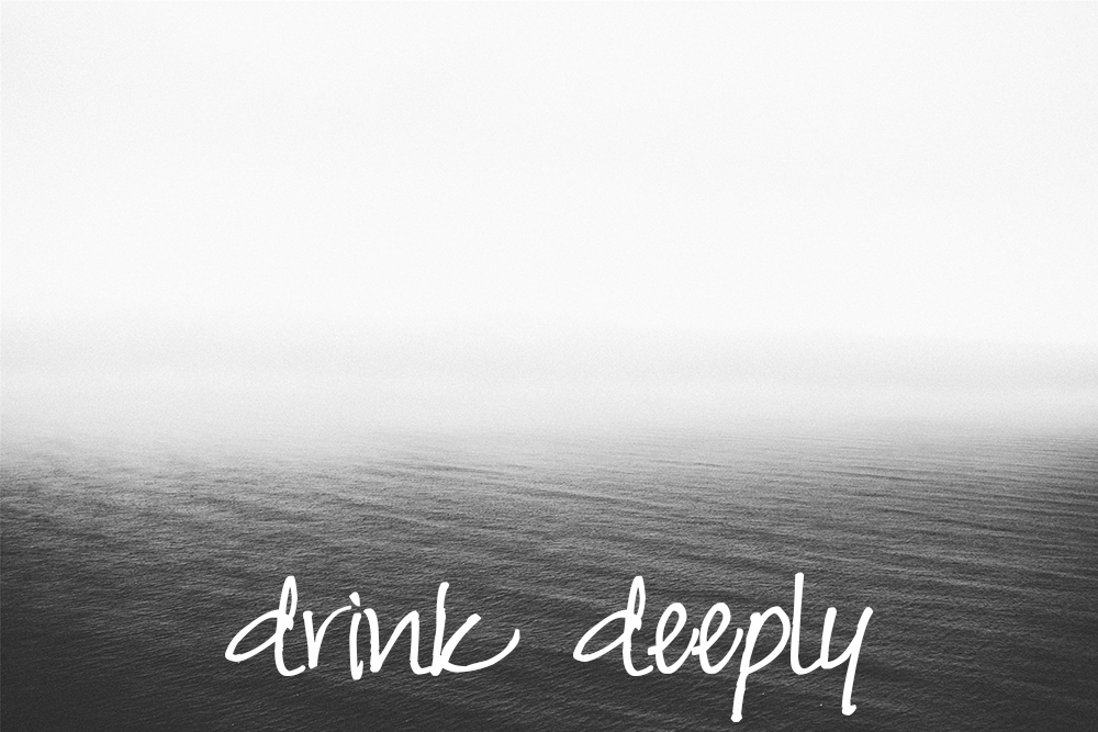 drink deeply | jill & aslan at the stream | sarah sandel