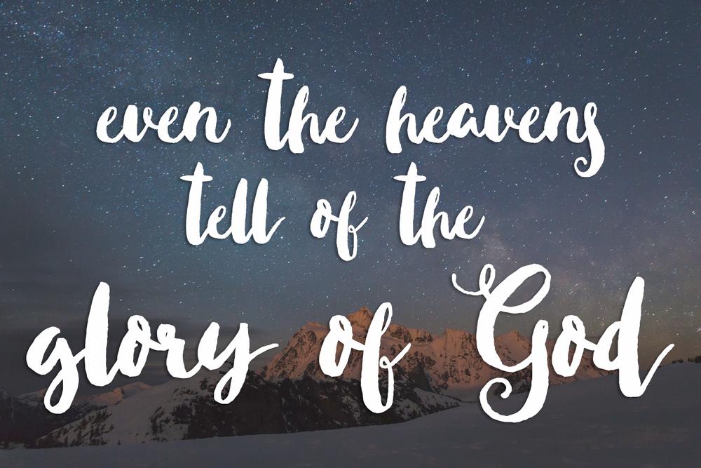 Write 31 Days: Praying the Psalms | sarahsandel.com | Psalm 19