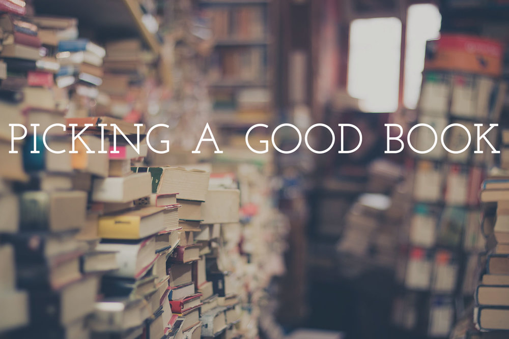 to be bookish: on picking good books \ sarahsandel.com