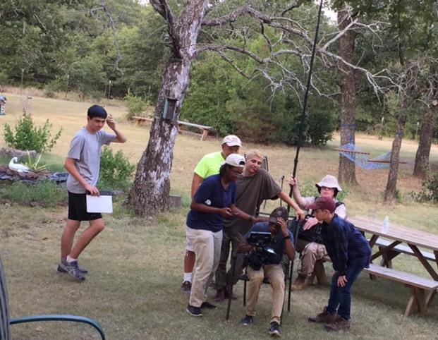 Dallas Film Crew, filming for the 48HR film project