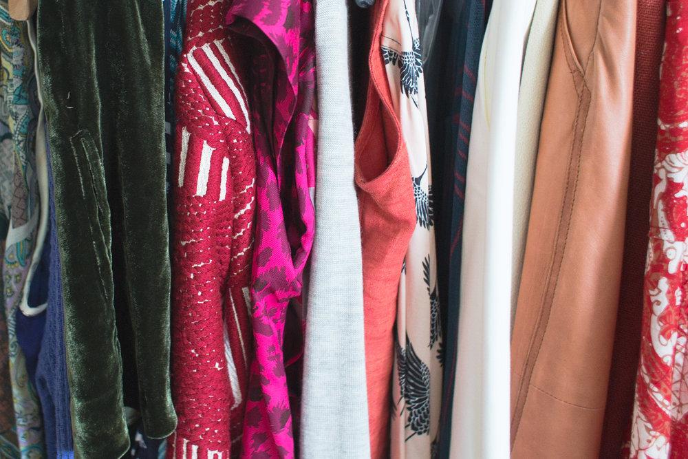 the new closet