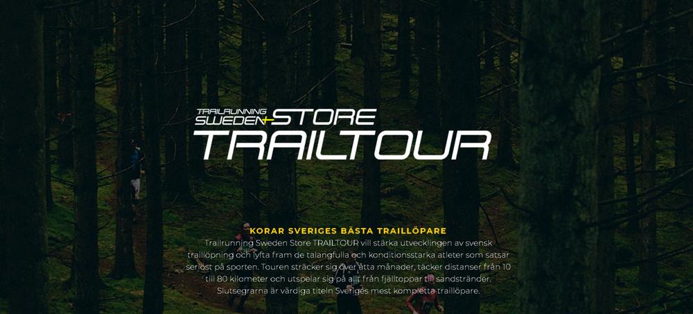 Night Trail Run är med i Trailtouren! -