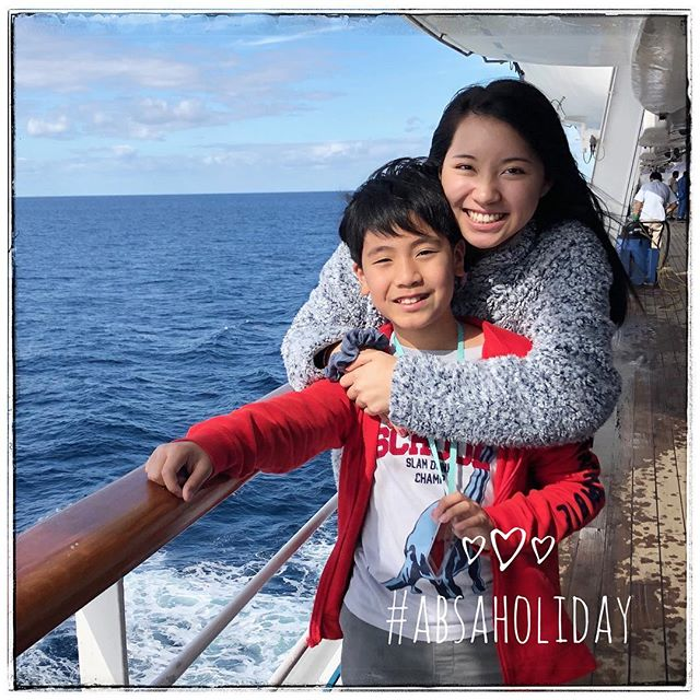 Happy New Year ABSA! Our first #ABSAHoliday spotlight of 2019 is Ashley Wu! Year: Freshman Major: Business, Pre-Dental Ashley just returned from a cruise to Cozumel, Roatan, and Belize! She enjoyed visiting the Mayan Ruins and zip-lining through the Belizean Forest, and most of all, spending time with her family. For the rest of her break, Ashley plans to relax at home, catch up with old friends, and hang out with the rest of External Branch!