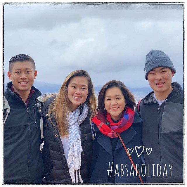 For our next #ABSAHoliday spotlight... The bigs of What-a-Clout have joined forces to conquer Asia - specifically Japan & Taiwan! They just finished eating their way through Taiwan stuffing themselves with cheap boba, street food, and beef noodle soup. Next up they will be traveling thorough the traditional temples of Kyoto, home of the bowing deer Nara, foodie central Osaka, A5 wagyu Kobe, and weeaboo Tokyo!