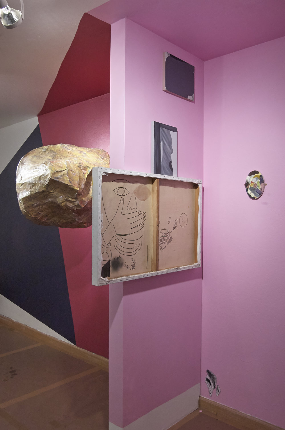 Experts in Strangers' Dreams, installation view