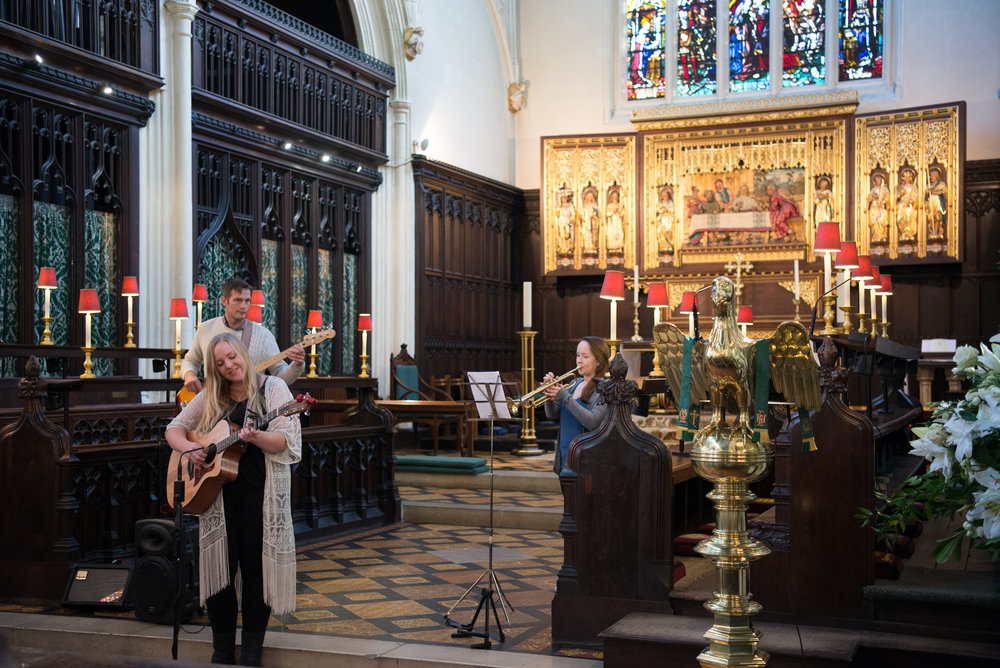 Photo by Amy Murrell, taken at St. Margarets Church, Westminster, during Westminster Abbey's remembering 1918 event in October 2018.