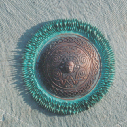 Celtic sun disc