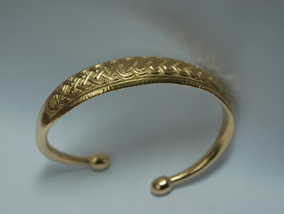 Forged bangle